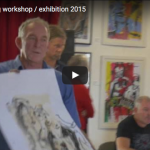 Dynamic Drawing workshop / exhibition 2015